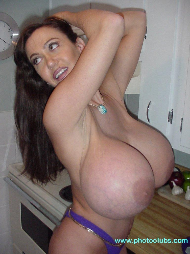 Largest breast naked